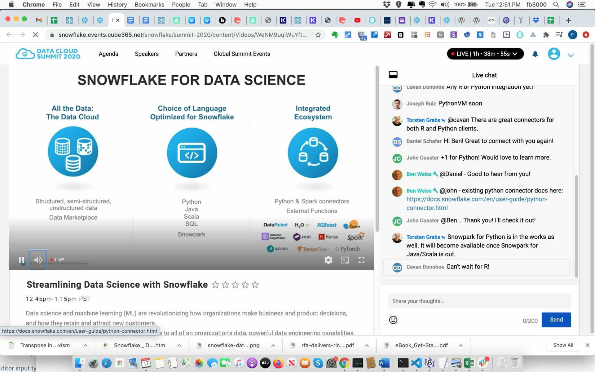 Snowflake For Data Science