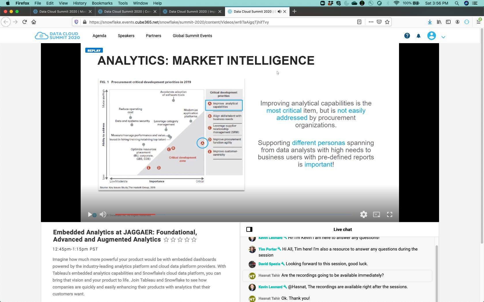 Jaegger Embedded Analytics