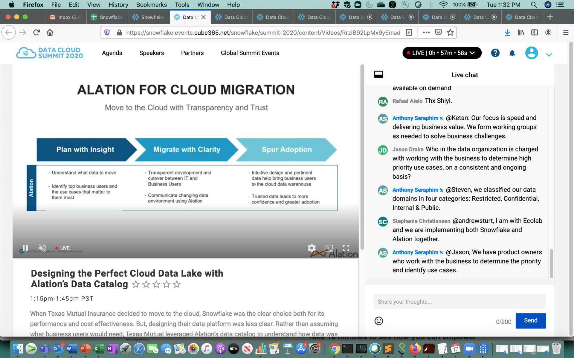 Alation Data Lake Cloud Migration
