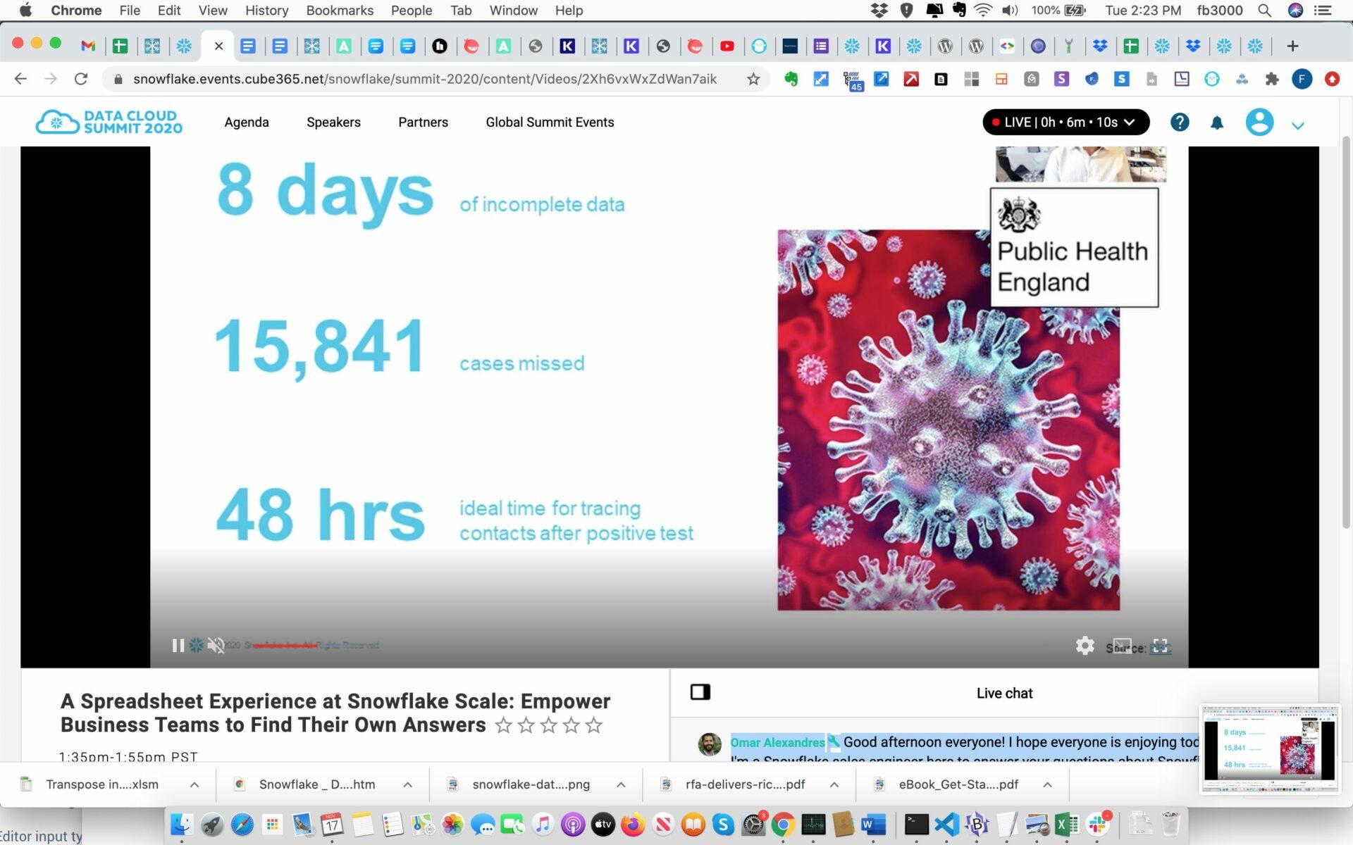Sigma Spreadsheet Snowflake
