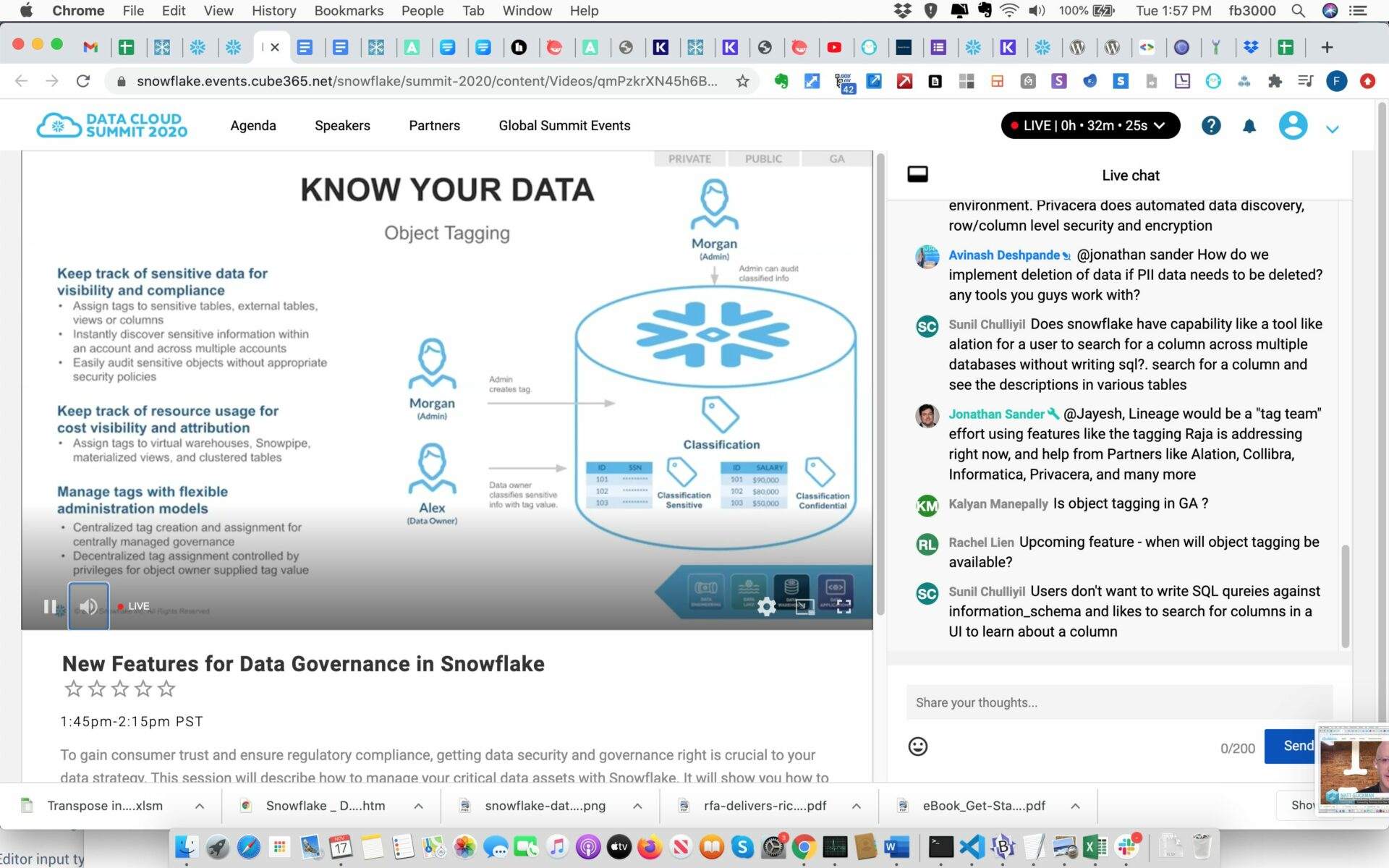 Data Governance Session