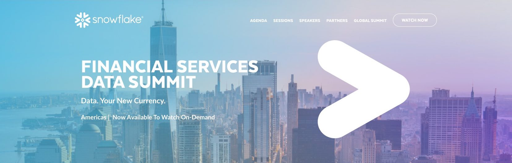 Snowflake Financial Services Data Summit