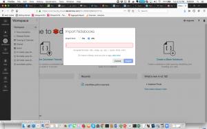 Databricks Import URL